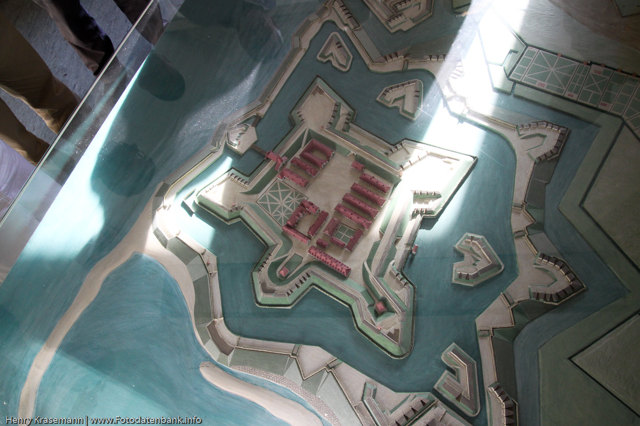Die Festung früher