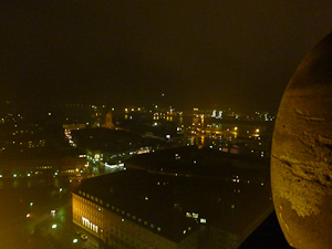 Blick vom Kieler Rathausturm